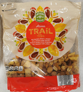 Bag of Aldi's Southern Grove Asian Trail Mix