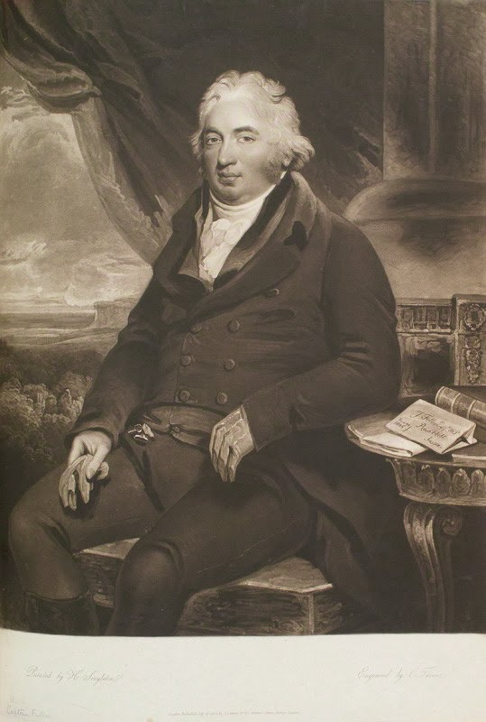 John Fuller by Charles Turner, after Henry Singleton, 1808