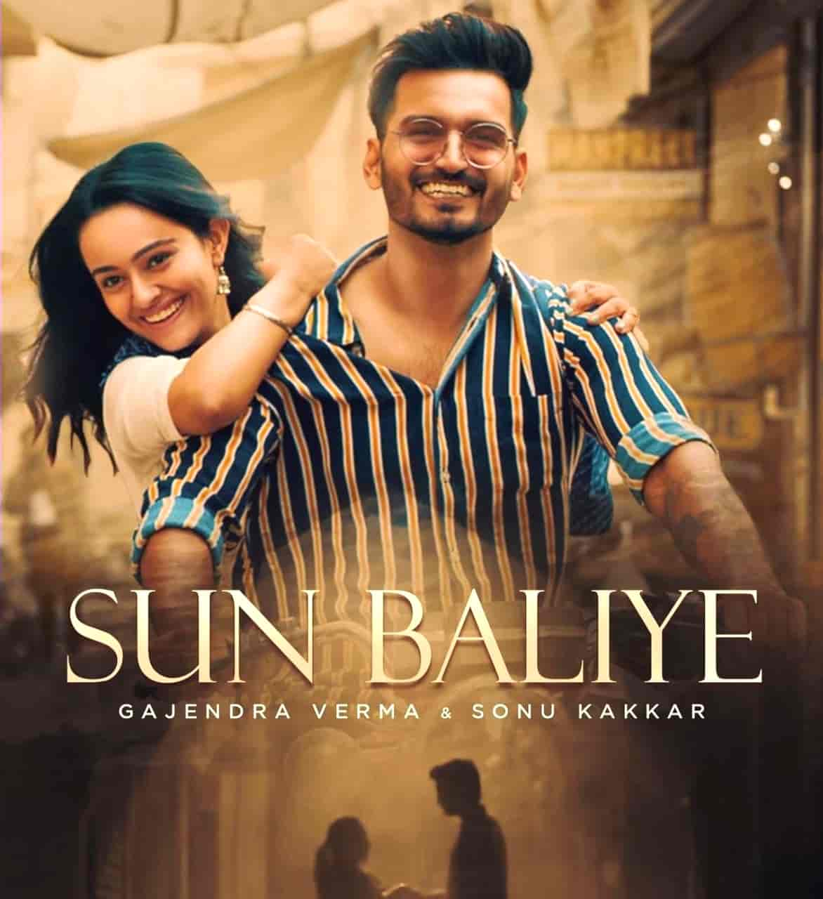 Sun Baliye Hindi Song Image Features Gajendra Verma And Apoorva Arora