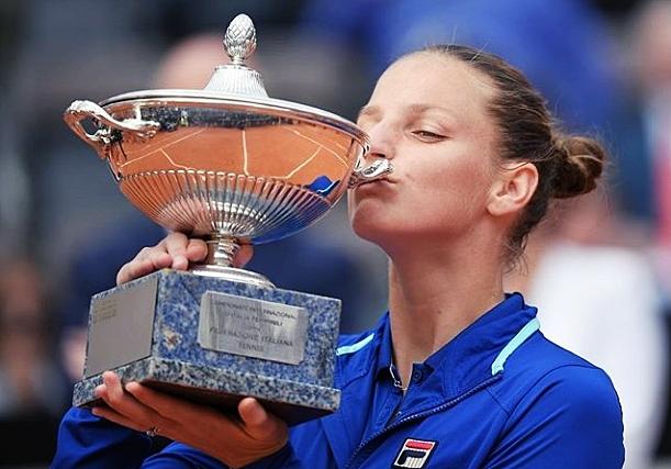 Karolina Pliskova Sabet Gelar Juara Italia Open