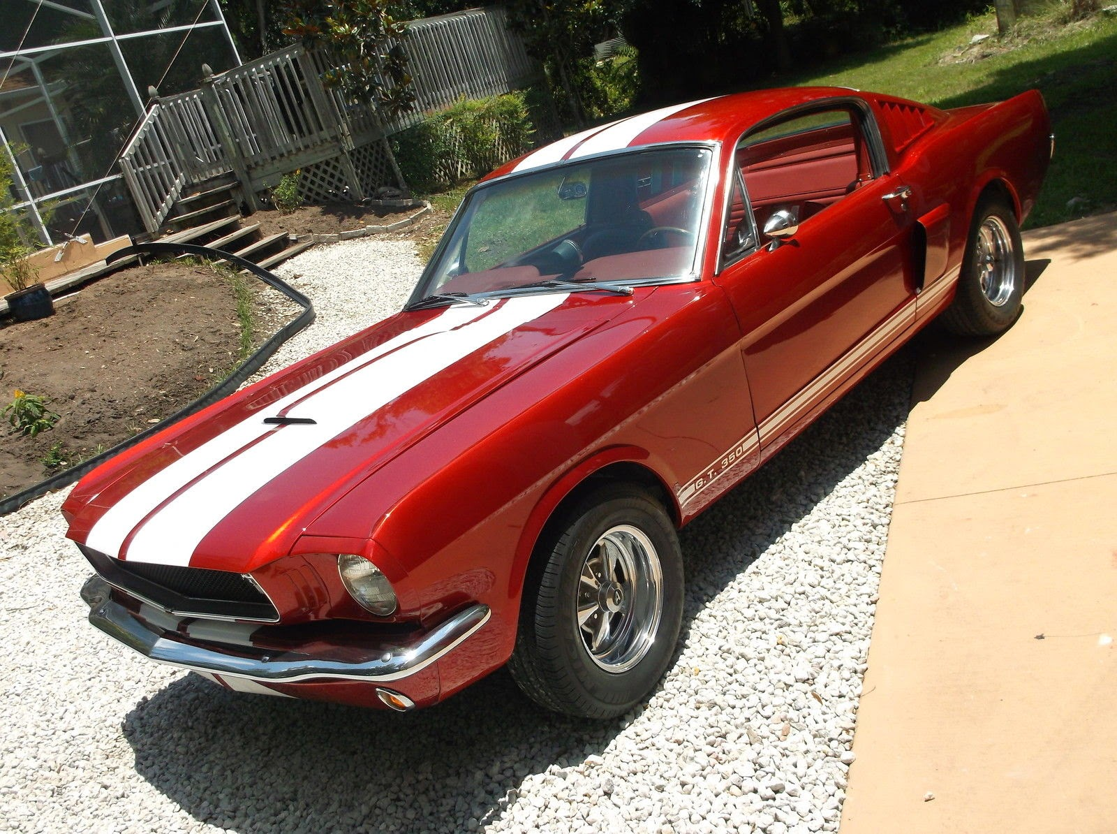 For sale 1965 Mustang Fastback 289 C code Shelby GT350 Tribute
