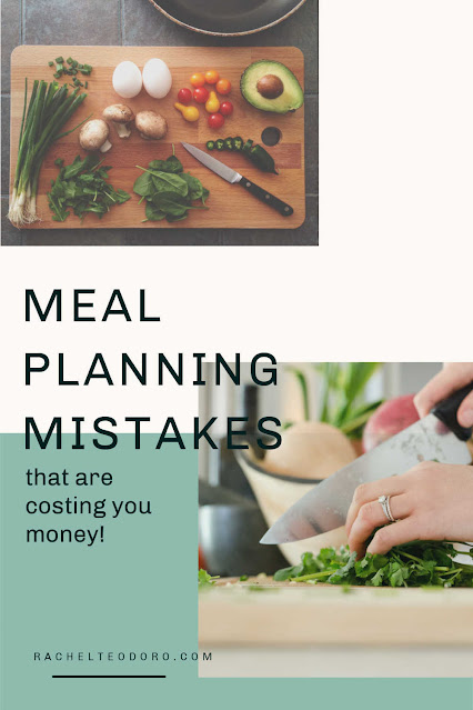 meal planning mistakes