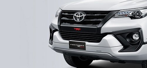 New TRD Grille and Front Bumper Design