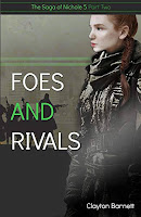 Foes and Rivals: cover by Jacoby Alley https://www.jacobyalley.com