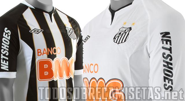 438a52e267aec Santos FC revelou seu uniforme -Umbro para a temporada 2011. A Umbro e o  Santos