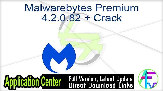 Malwarebytes Premium 4.2.0.82 + Crack