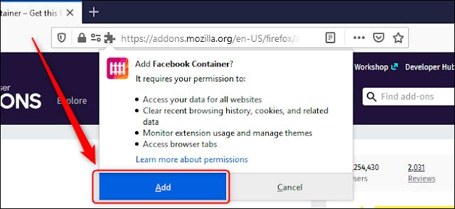 كيفية منع فيسبوك من تتبعك على متصفح فايرفوكس