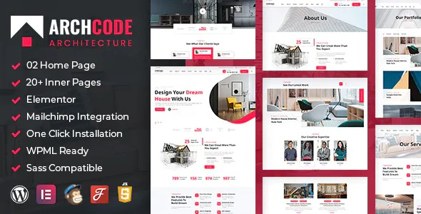 Download Architect Design WordPress Theme