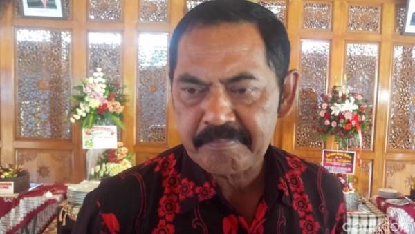 Cerita FX Rudy Dicari Jokowi Saat Rakernas PDIP