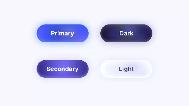 Colorful Gradient Buttons with Color flowing Effect