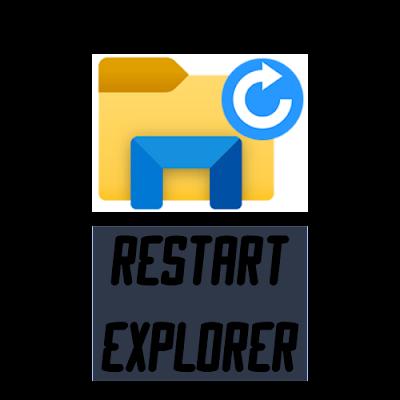 Restart Explorer 1.5 - Reinciar el explorador de Windows rápidamente