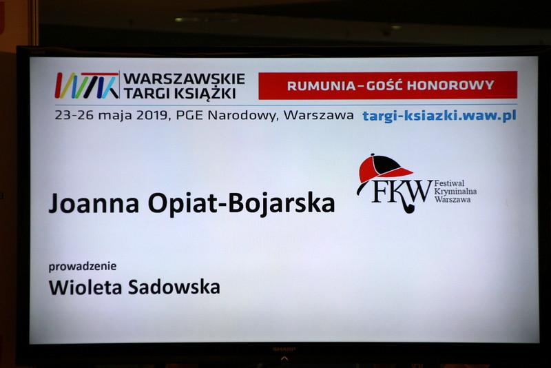 206b189e35a201 Joanna Opiat-Bojarska to jedna z najbardziej cenionych polskich autorek  kryminałów, nazywana także specjalistką od bolączek policji.