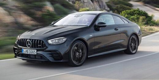 Mercedes-Benz E-Class 2021, купе и кабриолет: первый взгляд