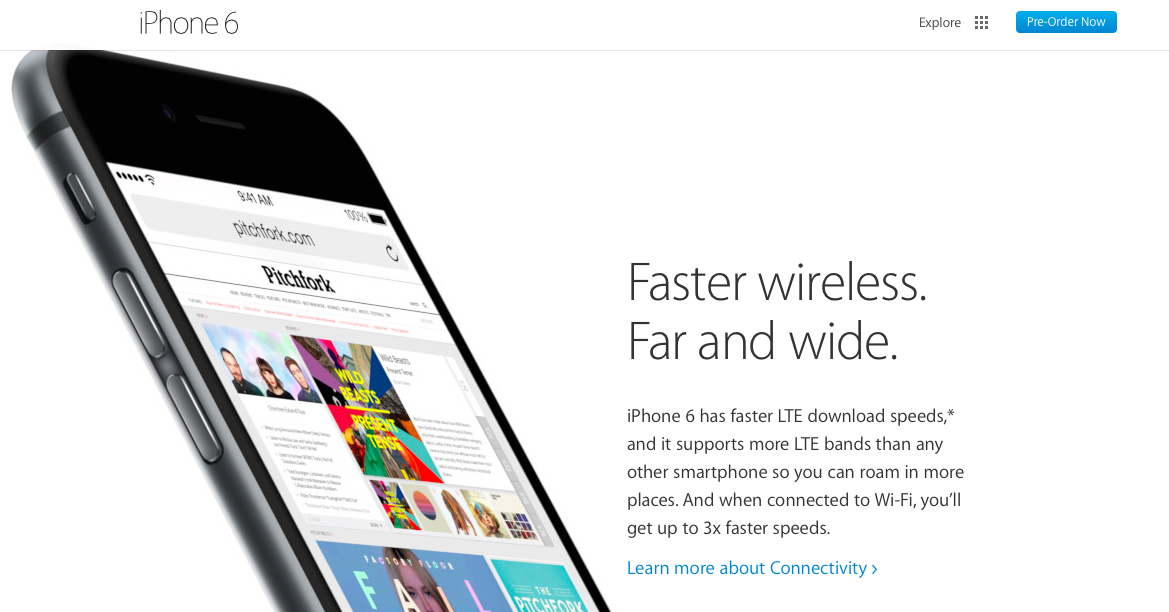 What's New (and Missing) in the WiFi for iPhone 6