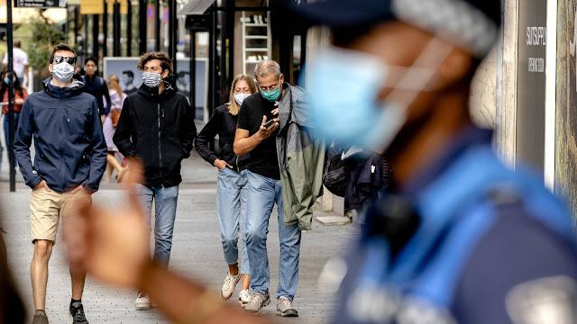 تحقيق هولندي.. الأقنعة الإلزامية لم تؤد إلى تقليل الحشود في الشارع