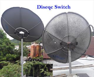 Diseqc Switch TV Satelit