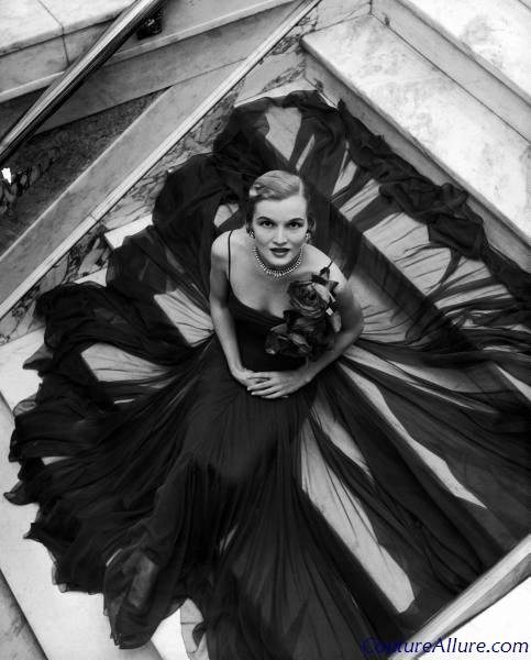 Couture Allure Vintage Fashion: Norman Norell Bubble Dress