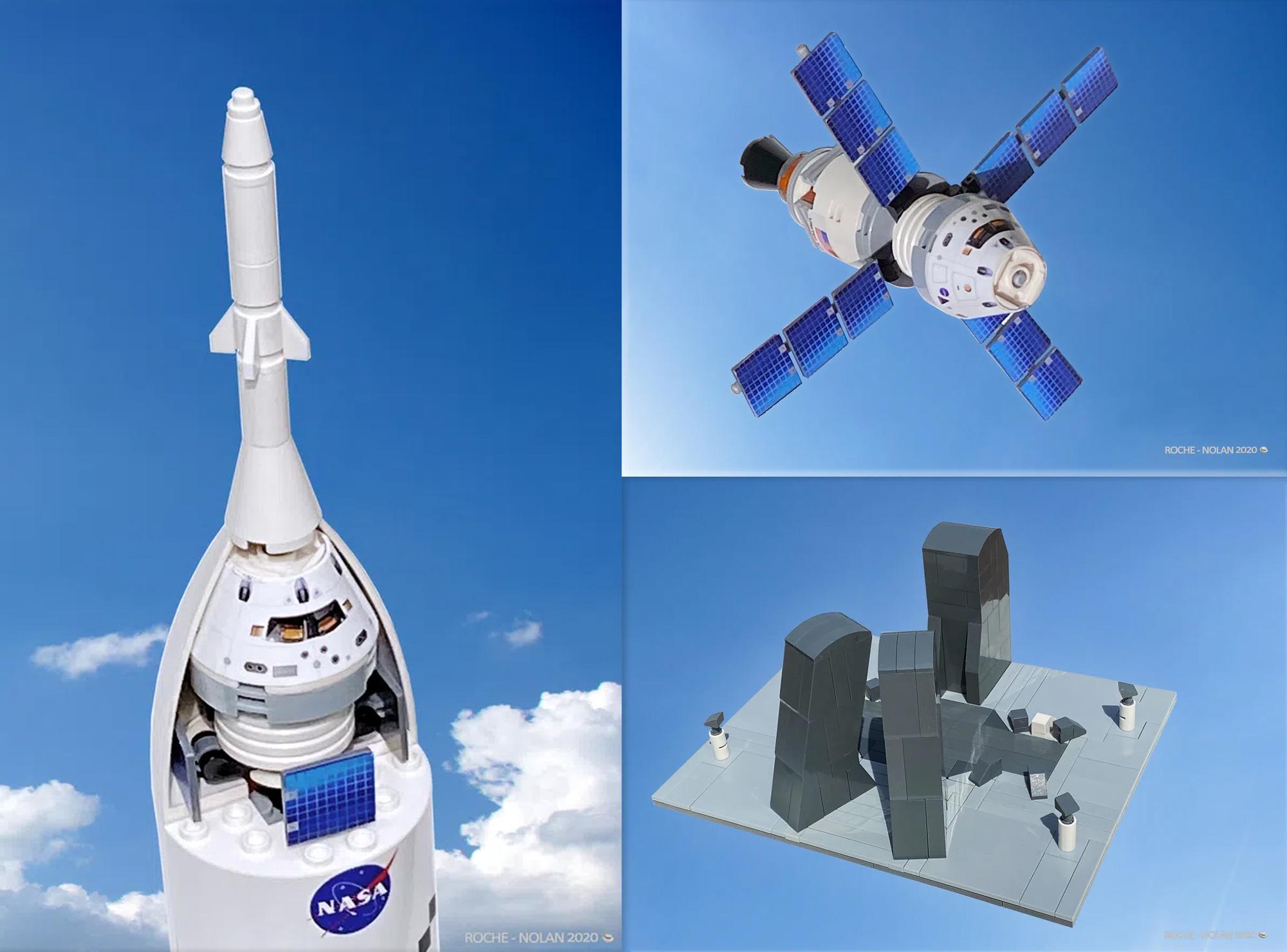 レゴアイデアで『NASA SLSとアルテミス計画』が製品化レビュー進出!2021年第1回1万サポート獲得デザイン紹介
