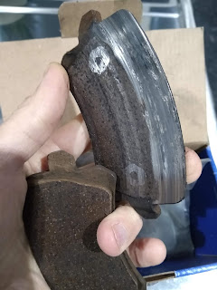 VW Passat B6 Uneven Rear Brake Pad Wear