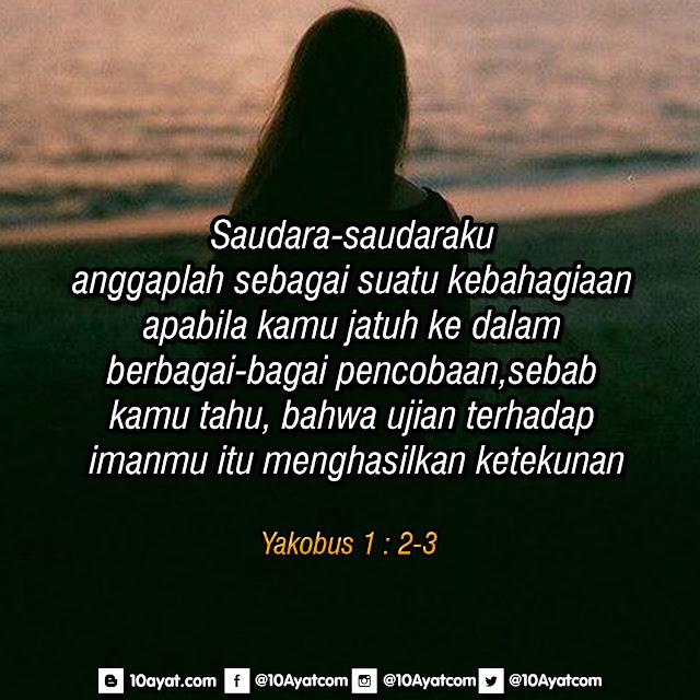Yakobus 1 : 2-3