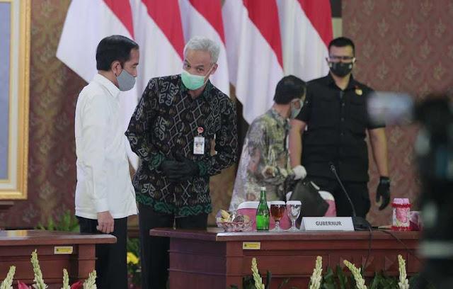 Jokowi: Kasus Covid-19 di Jateng dan Jakarta Meningkat Drastis, Perlu Perhatian Khusus