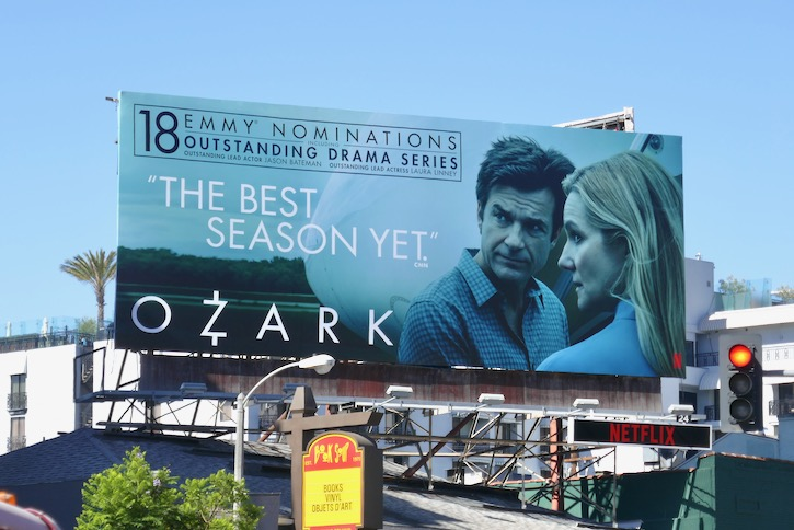 Ozark 18 Emmy nominations billboard
