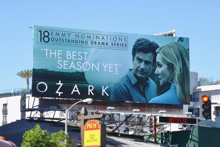 Ozark 18 Emmy nominations billboard