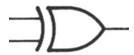 Gate Symbol - Xor