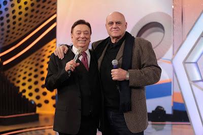 Oscar Maroni e Raul Gil  (Foto: Rodrigo Belentani/SBT)