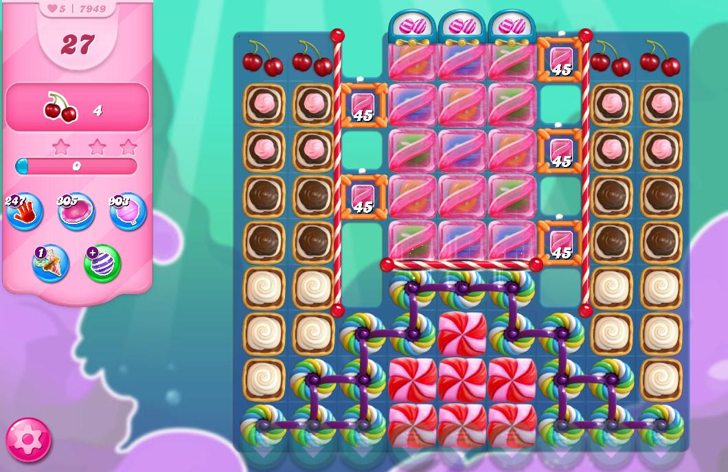 Candy Crush Saga level 7949
