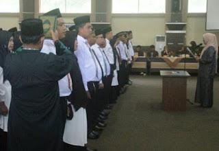 70 PPK se-Kabupaten Solok Dilantik