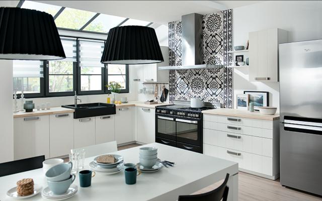 Decotips distribuir la cocina seg n su geometr a - Como distribuir una cocina pequena ...