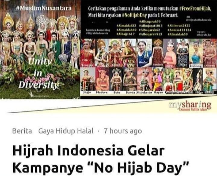 Sindiran Maut Ustadz Hilmi untuk Penggerak No Hijab Day