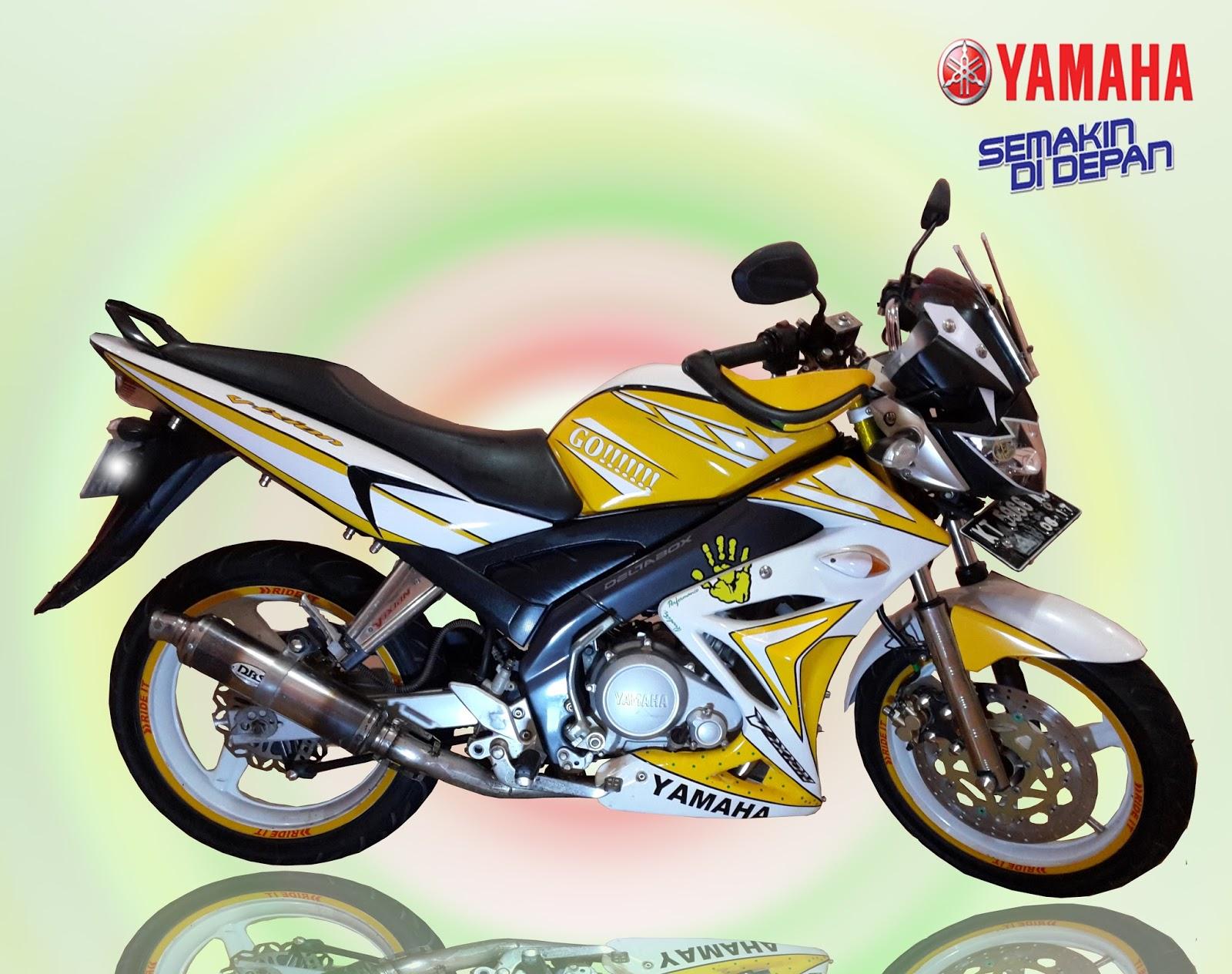 Ide 47 Modifikasi Motor Vixion Warna Kuning Hitam Terupdate