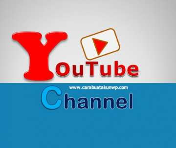 Cara Buat Akun Youtube Channel Lewat Hp Android