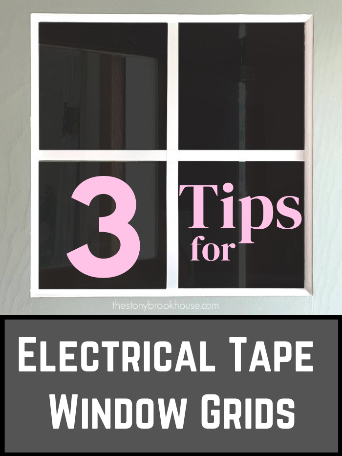 3 Tips For Electrical Tape Window Grids