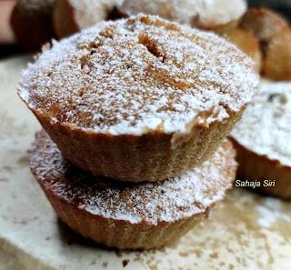 Lemon Cocoa muffins