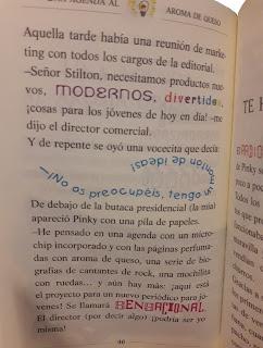 Geronimo Stilton tipografía