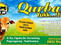Download Spanduk Sedia Hewan Qurban Format CDR