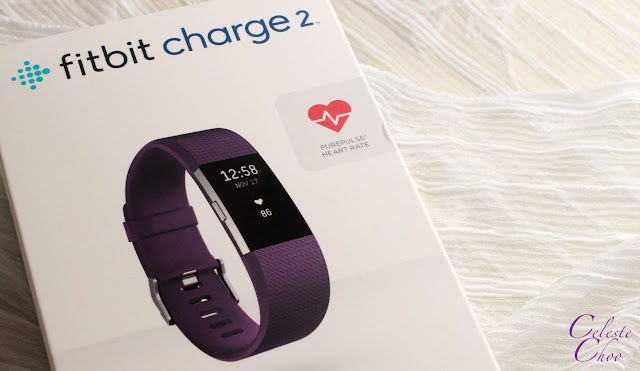 Fitbit charge 2 heart rate and fitness tracker box