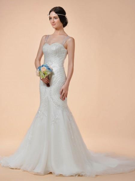 Wedding dress for a bride