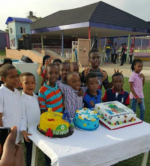 Mercy Aigbe son birthday party 10