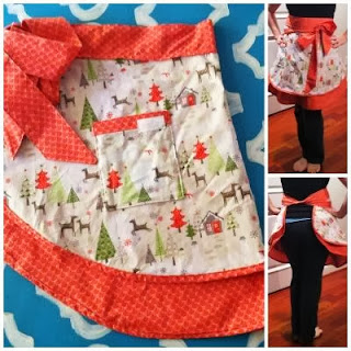 Cozy Christmas Apron