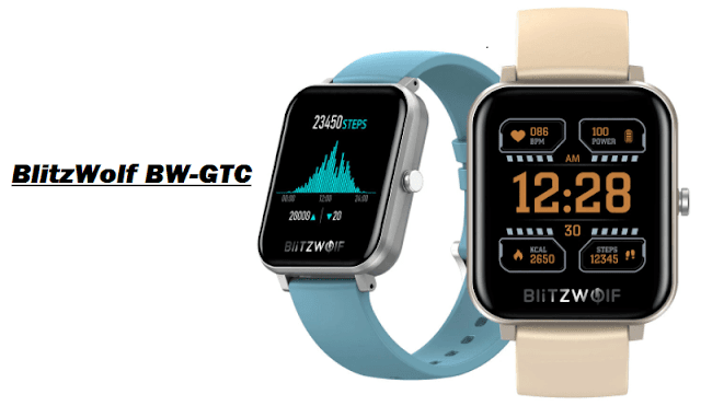 BlitzWolf BW-GTC Smartwatch Full Specs + Best Price