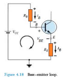 base emitter loop