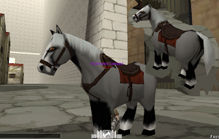 Skull White Horse Skin - Attack On Titan Tribute Game