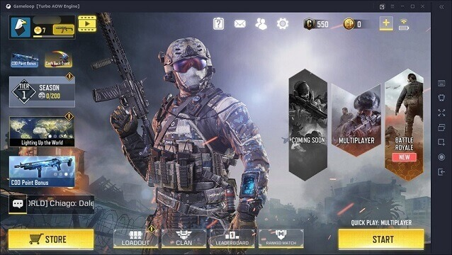Cara Install Call of Duty Mobile di PC dengan GameLoop