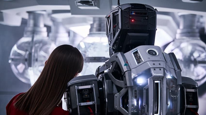 Дитя робота, Фантастика, Рецензия, Обзор, 2019, I Am Mother, SciFi, Review, Netflix