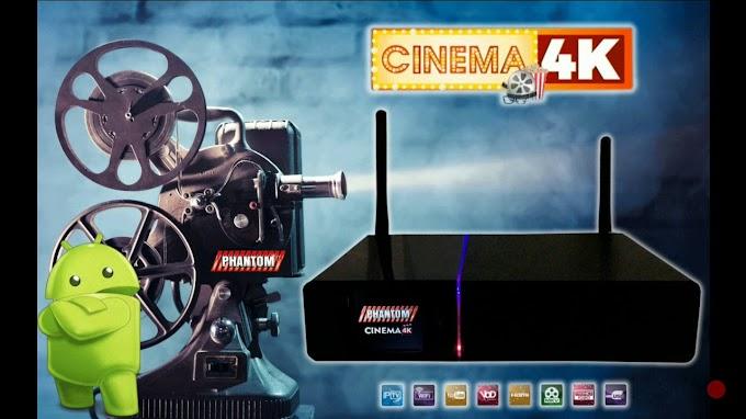 PHANTOM CINEMA 4K NOVA ATUALIZAÇÃO V2.0.2.825 - 26/09/2018