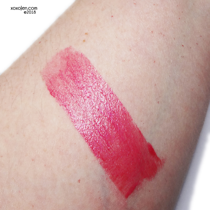 xoxoJen's swatch of Colors By Llarowe Baddie To The Bone lip tint